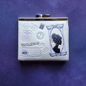 NWT Vintage-Style Coin Purse - Cream Vegan Leather